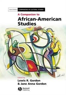 A Companion to African-American Studies, Hardback Book