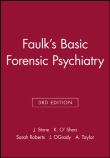 Faulk's Basic Forensic Psychiatry, Paperback Book