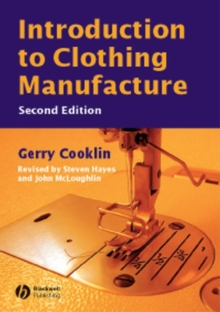 Introduction to Clothing Manufacture, Paperback / softback Book