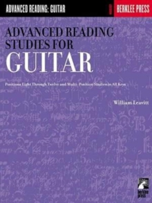ADVANCED READING STUDIES FOR GUITAR,  Book