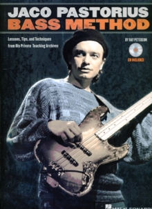 Ray Peterson : Jaco Pastorius Bass Method, Paperback / softback Book