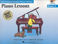 Hal Leonard Student Piano Library : Piano Lessons Book 1 (Book/CD), Paperback Book