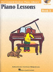 Hal Leonard Student Piano Library : Piano Lessons Book 3 (Book/Online Audio), Paperback / softback Book