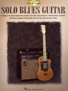 Solo Blues Guitar (Book/Online Audio), Paperback / softback Book