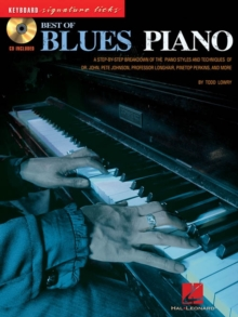 Best Of Blues Piano : Keyboard Signature Licks, Paperback / softback Book