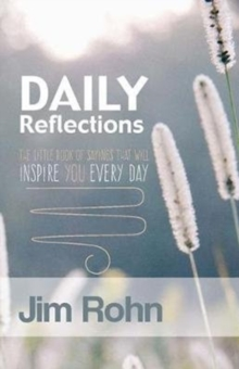 Daily Reflections : The Little Book Of Sayings That Will Inspire You Every Day, Paperback / softback Book