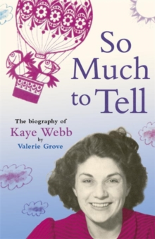 So Much To Tell, Paperback Book