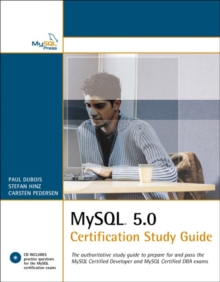 MySQL 5.0 Certification Study Guide, Mixed media product Book