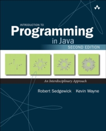 Introduction to Programming in Java : An Interdisciplinary Approach, Paperback / softback Book