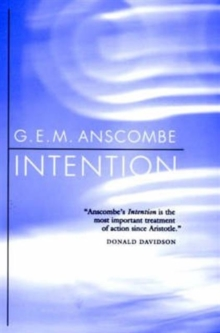Intention, Paperback / softback Book