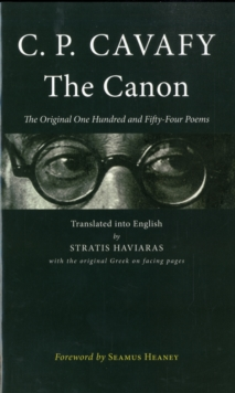 The Canon : The Original One Hundred and Fifty-Four Poems, Paperback / softback Book