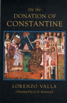 On the Donation of Constantine, Paperback / softback Book