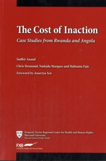 The Cost of Inaction : Case Studies from Rwanda and Angola, Paperback Book