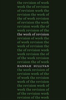 The Work of Revision, Hardback Book