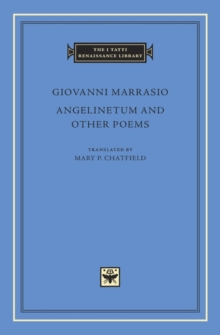 Angelinetum and Other Poems, Hardback Book