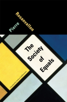 The Society of Equals, Hardback Book