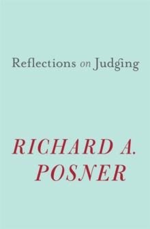 Reflections on Judging, Hardback Book