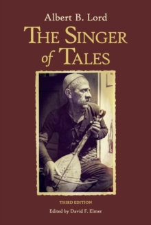 The Singer of Tales, Paperback / softback Book