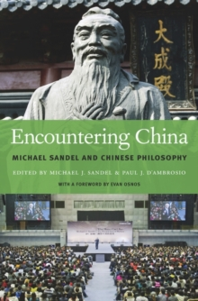 Encountering China : Michael Sandel and Chinese Philosophy, Hardback Book