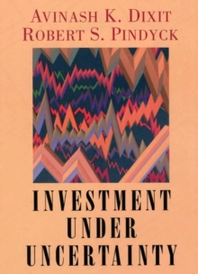 Investment under Uncertainty, Hardback Book
