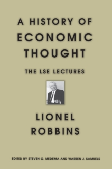 A History of Economic Thought : The LSE Lectures, Paperback Book