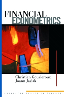 Financial Econometrics : Problems, Models, and Methods, Hardback Book