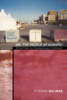 We, the People of Europe? : Reflections on Transnational Citizenship, Paperback Book