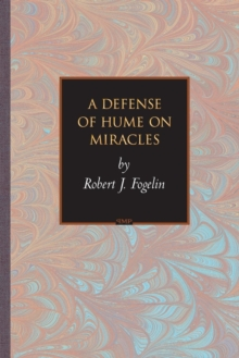 A Defense of Hume on Miracles, Paperback / softback Book