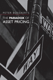 The Paradox of Asset Pricing, Paperback / softback Book