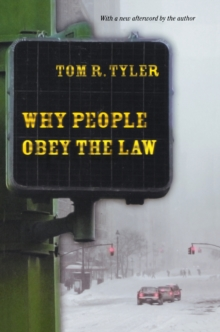Why People Obey the Law, Paperback Book