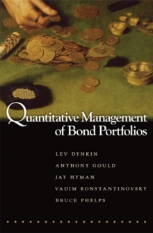Quantitative Management of Bond Portfolios, Hardback Book