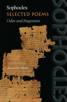 Selected Poems : Odes and Fragments, Hardback Book
