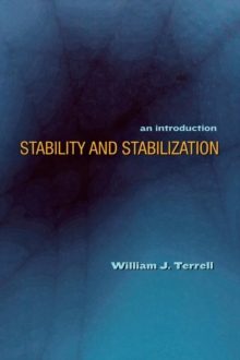 Stability and Stabilization : An Introduction, Hardback Book