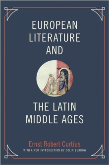 European Literature and the Latin Middle Ages, Paperback / softback Book