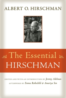 The Essential Hirschman, Paperback / softback Book