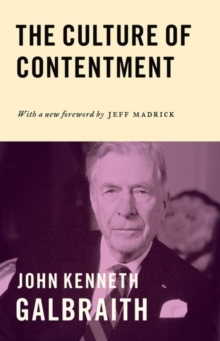 The Culture of Contentment, Paperback / softback Book