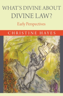What's Divine about Divine Law? : Early Perspectives, Paperback / softback Book