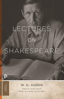 Lectures on Shakespeare, Paperback / softback Book