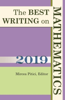 The Best Writing on Mathematics 2019, Paperback / softback Book