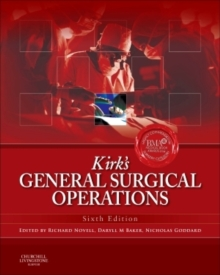 Kirk's General Surgical Operations, Hardback Book