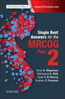 Single Best Answers for MRCOG Part 2, Paperback / softback Book