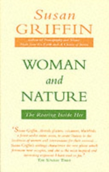 Woman and Nature : The Roaring Inside Her, Paperback Book