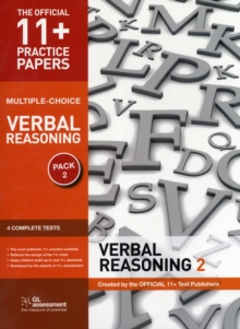 11+ Practice Papers, Verbal Reasoning Pack 2 (Multiple Choice) : VR Test 5, VR Test 6, VR Test 7, VR Test 8, Pamphlet Book