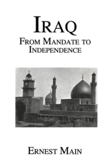 Iraq from Manadate Independence, Hardback Book