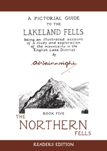 The The Northern Fells 50th Anniversary Edit, Hardback Book