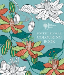 RHS Pocket Floral Colouring Book, Paperback Book