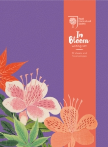 RHS In Bloom Writing Set, Novelty book Book