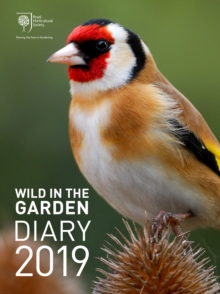 Royal Horticultural Society Wild in the Garden Diary 2019, Hardback Book