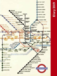 London Underground Pocket Diary 2019, Hardback Book