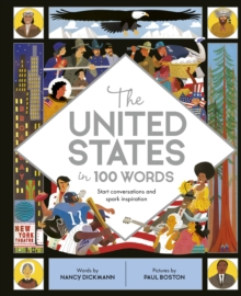 The United States in 100 Words, Hardback Book